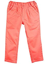 Oye Girls Pleated Pant - Pink (4-5Y)