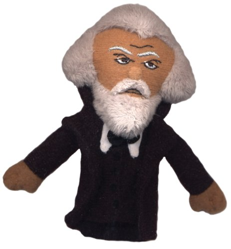 Frederick Douglass Finger Puppet and Refrigerator Magnet - By The Unemployed Philosophers Guild