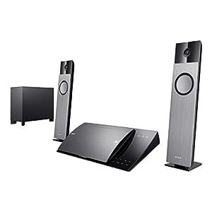 Sony BDV-NF720 Home Cinéma Blu-ray 3D 2.1 avec station d'accueil pour iPod/ iPhone 400 W HDMI USB Wi-Fi intégré Noir