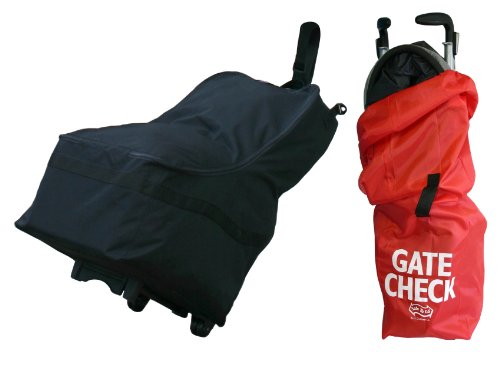 Jl Childress Wheelie Car Seat Travel Bag With Gate Check Stroller Bag