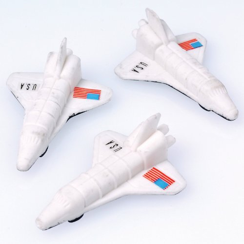 Space Shuttle Erasers - 1
