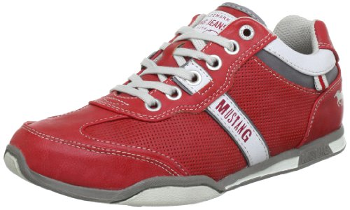 Mustang Sneaker, Scarpe stringate donna, Rot (feuerrot 515), 44