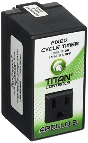 Titan Controls 702635 Apollo 3 Fixed Cycle Timer (Aeroponics Timer compare prices)