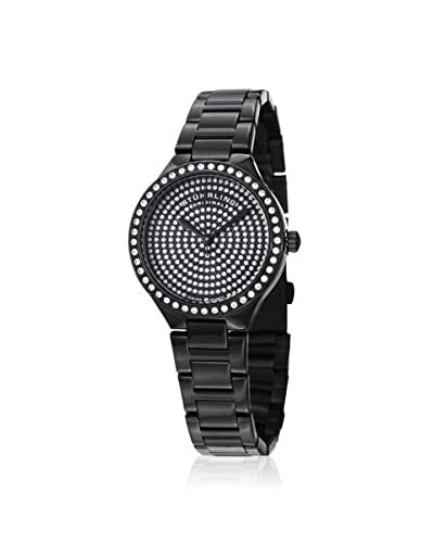 Stuhrling Women's Symphony 683 Black PVD Stainless Steel Watch
