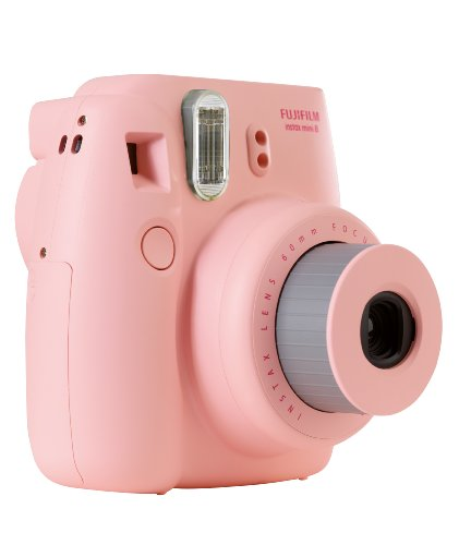 Fujifilm Instax Mini 8 Instant Camera - Pink Black Friday & Cyber Monday 2014