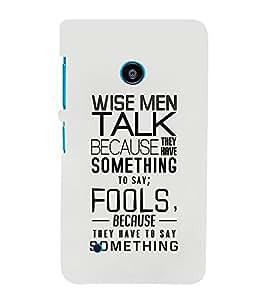 EPICCASE Wise Men Mobile Back Case Cover For Nokia Lumia 530 (Designer Case)