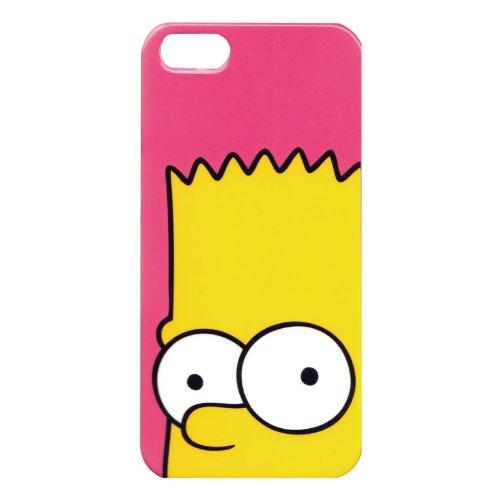 【iPhone5/5S対応】ザ・シンプソンズ キャラクターカバー バートアップ SSPC119