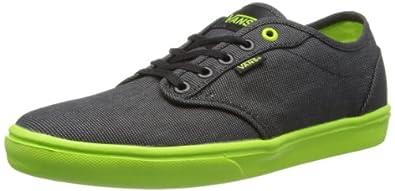 Vans M ATWOOD LITE (TEXTILE) BLACK VVNEC5T Herren Sneaker, Schwarz ((Textile) black), EU 47 (US 13)