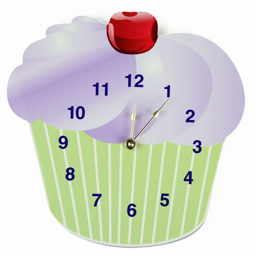 Rikki Knight Cupcake Wall Clock