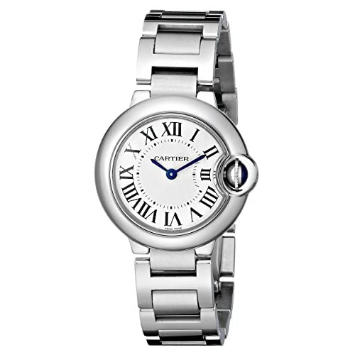 CARTIER BALLON BLEU DE CARTIER W69010Z4 LADIES STAINLESS STEEL CASE WATCH