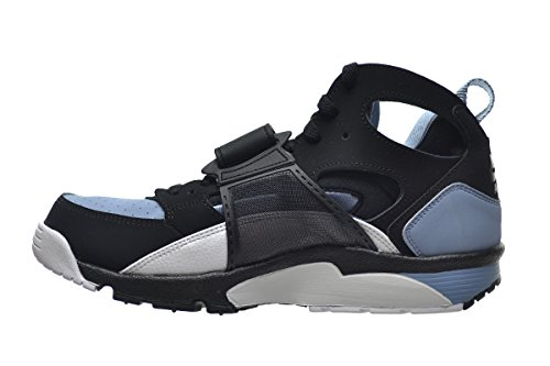 new arrival 6405b 61a62 pictures of Nike Air Trainer Huarache Mens Shoes BlackWhite-Cool Blue  679083-