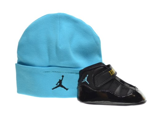 "Jordan 11 Retro ""Gamma"" Infants Shoes Gift Pack Black/Gamma Blue-Varsity Maize 378049-006"