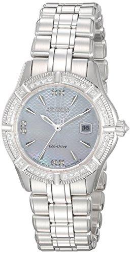 Citizen-Womens-The-Signature-Collection-Quartz-Stainless-Steel-Dress-Watch-ColorSilver-Toned-Model-EW2270-86D