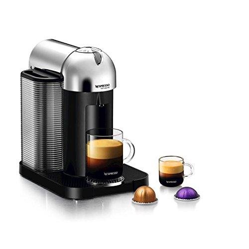 Nespresso GCA1-US-CH-NE VertuoLine Coffee and Espresso Maker, Chrome