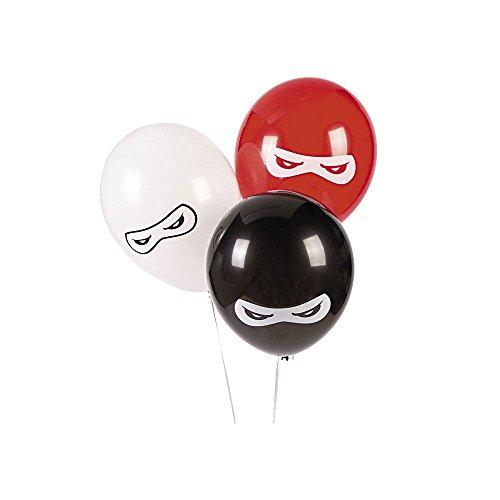 "Ninja Warriors 11"" Latex Balloons 25 Count"