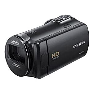 Samsung Hmx-f90 Flash Memory HD Digital Video Camcorder 32gb Deluxe Bundle With 32gb Card  Full Size Tripod Case And More .