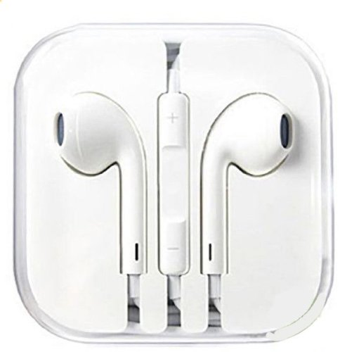 White Earpods Earbuds With Remote And Mic For Iphones, Ipads, Ipods, Nano, Kindle
