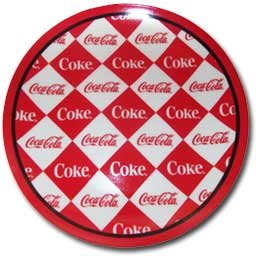 In The Groove Coca-Cola Dessert Salad Plate 4 Pk front-467413