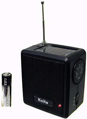 Kaito Sb-1059 Mini Hand Crank Amfm Weather Radio Black by Kaito