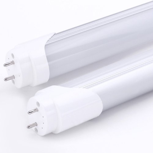 "Jacky Led® 100% Original Super Bright Epistar Smd Chips 24W Energy Saving Led T8 T10 Tube For 48"" 1.2M 4Ft Fluorescent Replacement Light Lamp Fixture No Ballast No Uv & Ir Day White Bulb Ce Rohs Listed 5500-6000K"