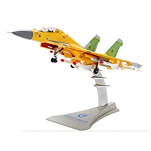 Zinc Alloy 1/72 Scale J15 Airplane Model Flying Shark, Carrier-based Aircraft Diecast Metal Fighter Plane Model Toy For Collection