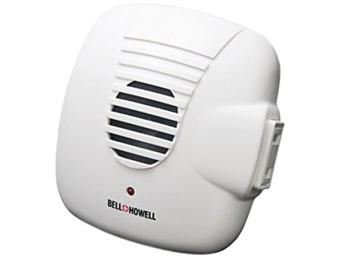 Bell and Howell Ultrasonic Pest Repellers with Extra Outlet – 3 Pack