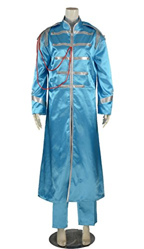 [RedstarCosplay The Beatles Sgt. Pepper Lonely Paul McCartney Cosplay Costume - Male S] (Sgt Pepper Paul Costume)