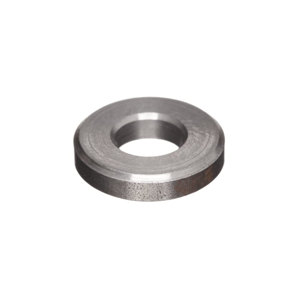 Plain Finish 12L14 Carbon Steel Type B Flat Washer Pack of 10 1 OD 0.531 ID Made in US Meets ANSI B18.22.1 #1 Hole Size 0.188 Nominal Thickness
