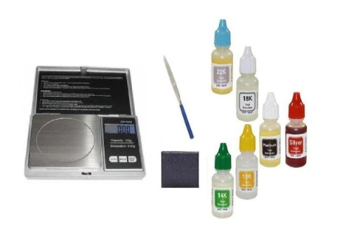 Metal Detector Accessories- Kit to Test Silver,