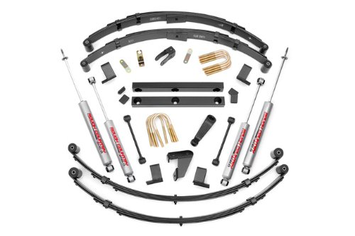 """Rough Country (620N2) 4"""" Suspension Lift Kit For Jeep Wrangler"""