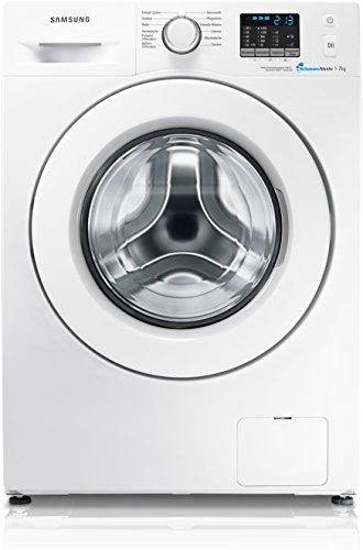 Samsung WF70F5E0Q4W/EG Waschmaschine Frontlader / A+++ / 173 kWh/Jahr / 9400 Liter/Jahr / 1400 UpM / 7 kg / weiße Tür Standard