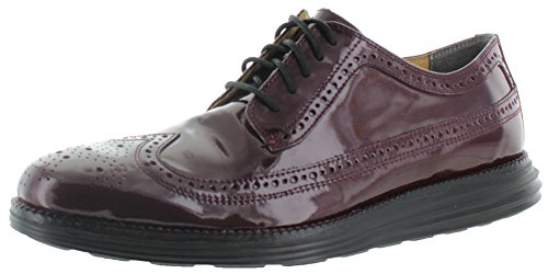 Cole Haan Original Grand Men's Oxford Dress Shoes Burgundy Size 9.5 (Cole Haan Mens Shoes Patent compare prices)