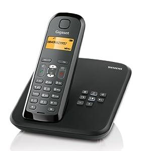 Gigaset AS285 Schnurlostelefon (Beleuchtetes Grafik-Display) schwarz