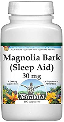 Magnolia (Hou Po) Bark - Sleep Aid - 30 mg