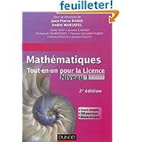 Mathématiques Tout-en-un pour la Licence - Niveau L1 - 2e édition: Cours complet, exemples et exercices corrigés...