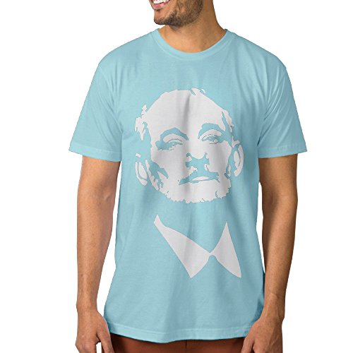 Funny Men's Tees B M Comedy Actor XXL SkyBlue (Leatherman Knife Sharpener compare prices)