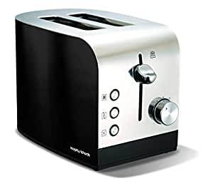 Morphy Richards 44209 Accents Two Slice Toaster - Black