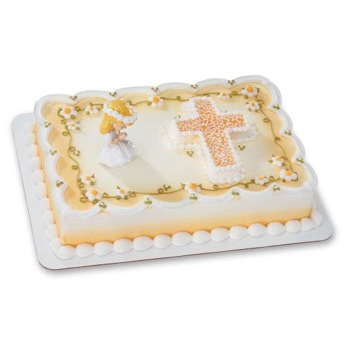 Praying Girl DecoSet Cake Decoration - Caucasian