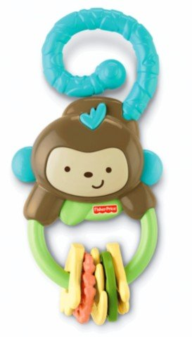 Fisher-Price Monkey and Bananas Teether - 0-18 Mos. - 1