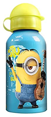 Minions Trinkflasche und Schüleretui für die Schule