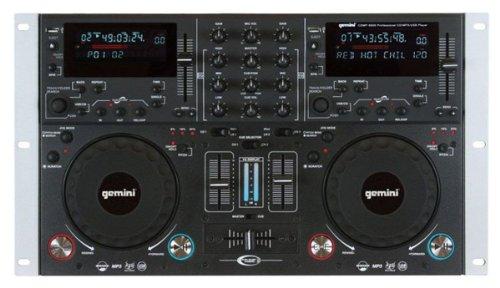 Gemini/ジェミナイ CDMP-6000 Dual CD/MP3/USB DJミキシングコンソール