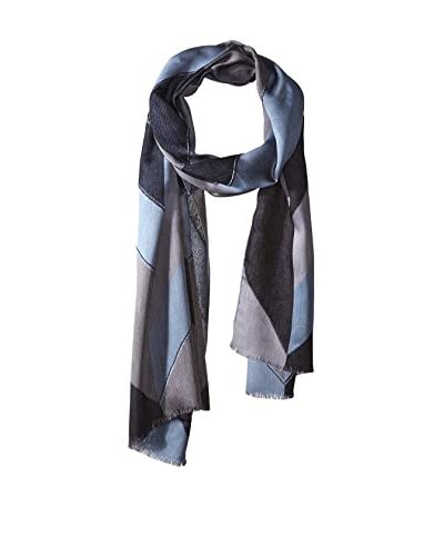 Paul Smith Men's Patterned Scarf, Gray