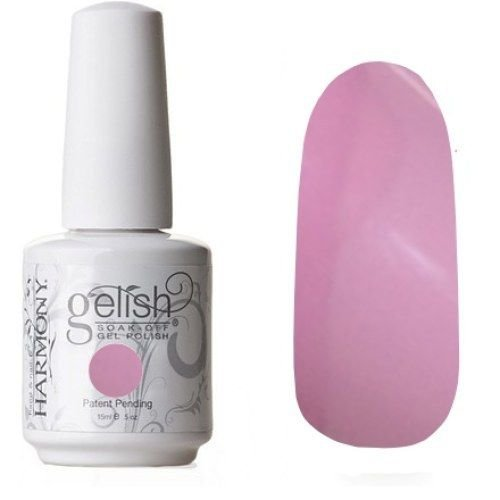 Pretty Opaque Baby Pink Gelish Nail Polish All Haile The