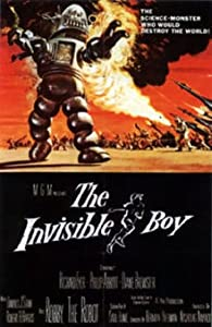 The Invisible Boy by Richard Eyer, Philip Abbott, Diane Brewster and Harold J. Stone