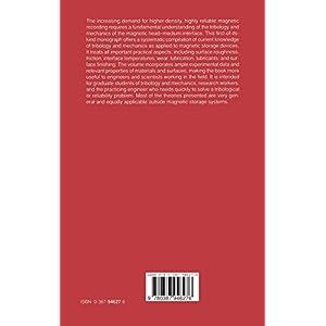 Tribology and Mechanics o Livre en Ligne - Telecharger Ebook
