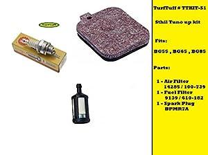 TurfTuff Kit# TTKIT-S1 Sthil tune up kit for BG55 BG65 BG85 Leaf Blowers by TurfTuff