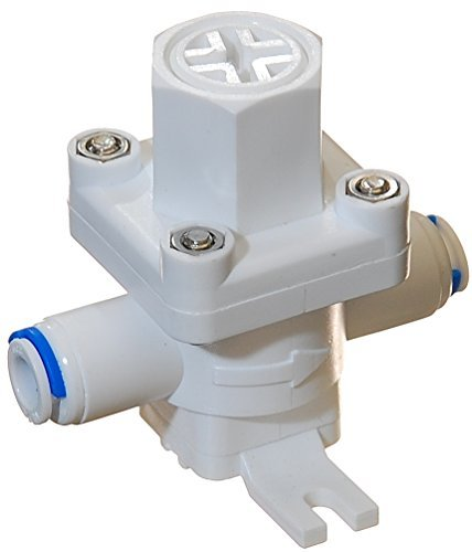 iSpring APR25 Pressure Regulator & Protection Valve for water filters, 1/4-Inch Quick Connect, MAX 70 PSI (Hydraulic Pressure Regulator compare prices)