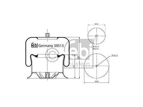 Febi 39513 Air Bellows