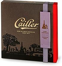 Cailler Pralinensortiment 16 Stück aus Zartbitterschokolade, Kleine Geschenkbox, 1er Pack (1 x 142 g)