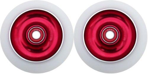 Buy 2 Metal Core Scooter Wheels 100mm RED Heavy Duty RAZOR